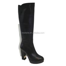woman shoes high waterproof ladies sexy over knee high heel long boot