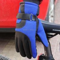Men with thick warm winter cycling warm outdoor gloves men's sport anti-skid gloves cotton gloves