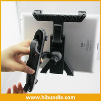New arrival Universal Car Rotatable Mount Holder For Apple iPad 2 iPad 3 iPad 4 all tablet