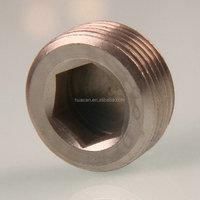 brass chrome male Pipe CSK plug