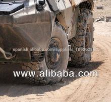 run flat para sistema 395 85r 20 militar de los neumáticos