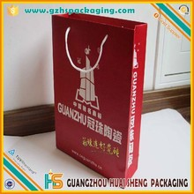 Factory price shoping paper bag with fancy logo print