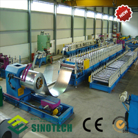 Zinc Aluminum Roller Shutter Door Slats Roll Forming Machine