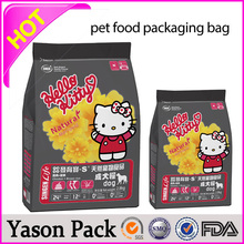 Yason pet food packaging bag clear garment bags for dresses crisps packing pouch