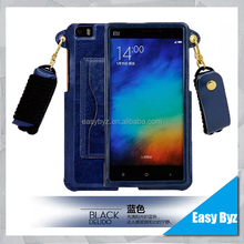 design 2016 new mobile phone cover pu leather phone cases for Hongmi note 2 case, leather cover for Xiaomi redmi note 2 case
