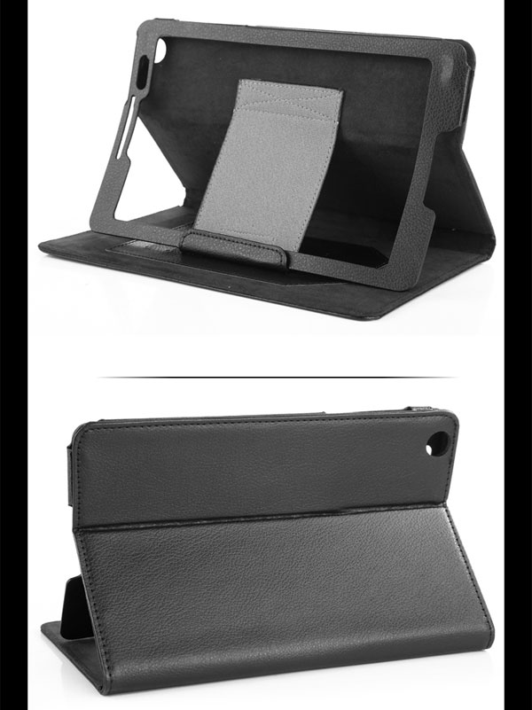 Neppt SlimBook Leather Folio Stand Case Cover for Lenovo A5500 Tablet / IdeaTab A8-50 8-inch Android Tablet