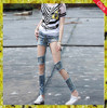 2015latest style top quality wholesale women/girls jeans damaged jeans
