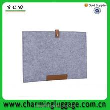 custom printed felt laptop sleeve without zipper/fashion handbag laptop bag wholesale