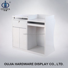 easily stalled checkout cash counter/cashier table