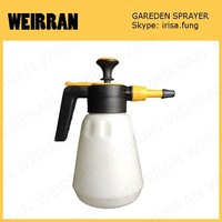 (802) New arrival 1.5 liter rotary nozzle from mist to jet plastic material pest control and watering PP and PE garden sprayer