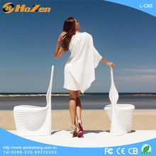 Supply all kinds of fast food LED chairs,wing back arm LED chair