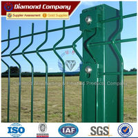 factory low price yard guard pvc coated wire mesh fence