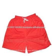 100% de poliéster deportes pantalones cortos
