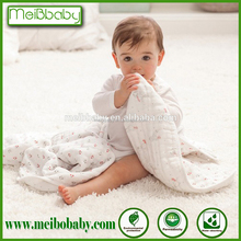 47x47 pre-washed 100% 4 layer cotton muslin dream blanket