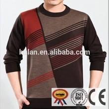 2015 de visón de cachemira suéter de lana para hombres