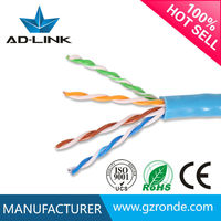 305m Passed Fluke CCAG communication cable factory cat5e utp cable 26awg UTP Lan cable I