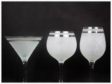 esmerilado de vidrio para beber