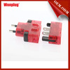 2014 wonplug unique newest CE/ROHS wholesale universal power adapter travel converter au eu uk