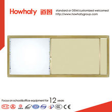 good quality magentic whiteboard sliding interactive for school