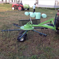 Hot sell tractor driven rotary hay tedder for sale