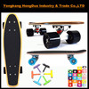 Canadian maple bamboo skateboard with OEM design
