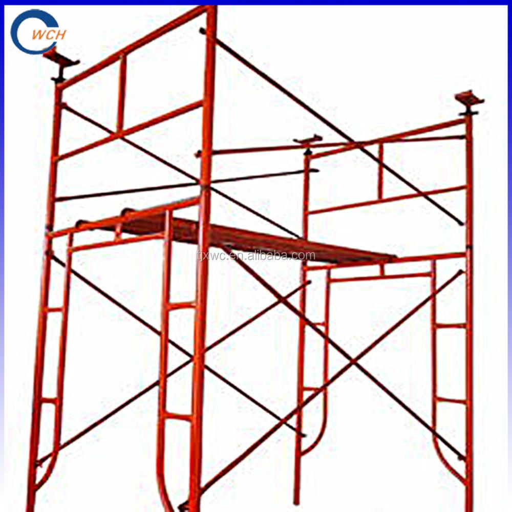 Frame Vs Shoring Prop : Galvanized adjustable steel prop scaffolding shoring