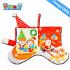 Christmas gift Educational cloth book safety non-toxic
