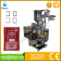 Automatic sushi soy sauce pouch filling packing machinery DS-200Y
