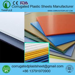 3mm 4mm 5mm 6mm plastic corflute sheet / board