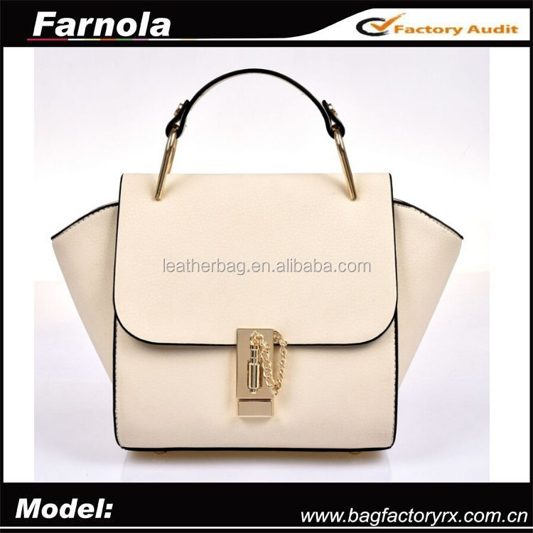 wholesale korean fashion handbag leather bag for women