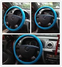 Colorful Auto Car Non-slip Silicone Interior Steering Wheel Cover