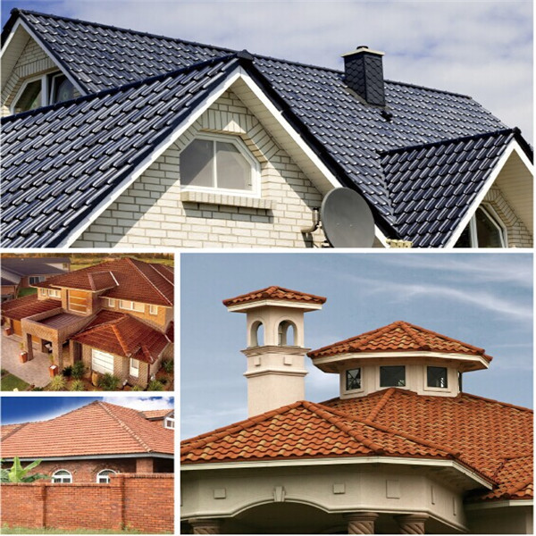 Flat Clay Roof Tiles Zinc Corrugated Roofing Sheet Clay