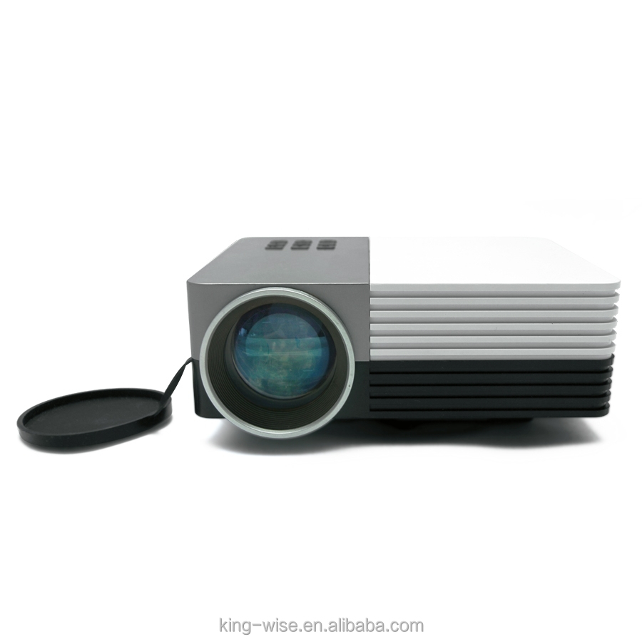 Gm50 newest home theater cinema projector led multimedia for Micro movie projector