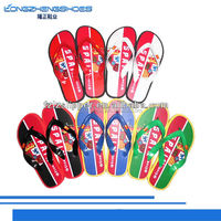 New fashion the national flag team flip flop slipper