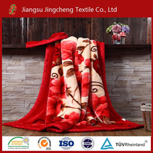2015 super soft blanket/mink blanket/rashel blanket high quality new