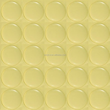 Transparent epoxy dots stickers