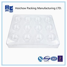 Cheap hot sell clear blister ping pong inner plastic packaging /sports product diaplay packaging tray