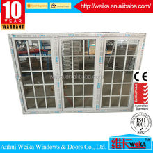 High quality factory price door glass inserts blinds