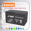 long deposite life 12v12ah storage SLA battery for lighting equipment