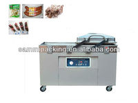 Double chamber vacuum packaging machine DZ400/2SB for salty meat,beef,fish,chicken, sea food