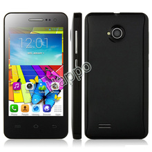 android four sim cards mobile phone with tv Mini M1+ 4.0 Inch 800 x 480 pixel 512MB+4G MTK6572-1.3G MHz Dual-core