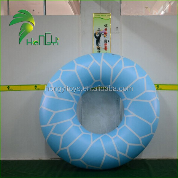 inflatable blue swimming ring