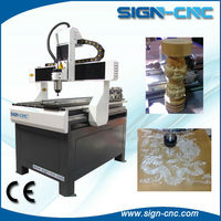 SIGN-9060 cheap wood cnc router 4 axis with rotary