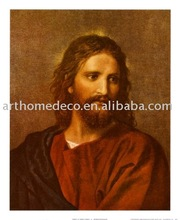 heinrich-hofmann-christ-at-thirty-three) canvas painting for living room