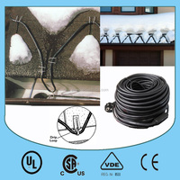 PAWO easy heat roof de-icing cable with CE/ UL certification for Europe and North America