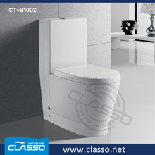 Ceramic dual flush toilet bedside commode 3 in 1 commode toilet