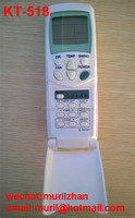 Clamshell White KT-518 UNIVERSAL REMOTE Air Conditioner for DAIKIN DOCTOR DONGBAO Electrolux FUJITSU FUNAI GUQIAO GALANZ GLEE
