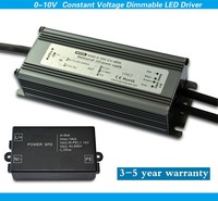 45w 5 year warranty led adaptors 24v 0-10v dimmable constant voltage led power supply with surge protection device