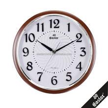 Room decor 3d quartz wall clock with big numbers 13 inches