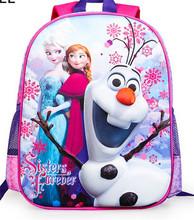 2014 New arrival backpack kids wholesale frozen school bags